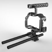 8Sinn a7S/a7R Cage + Top Handle Basic + Universal Rod Support